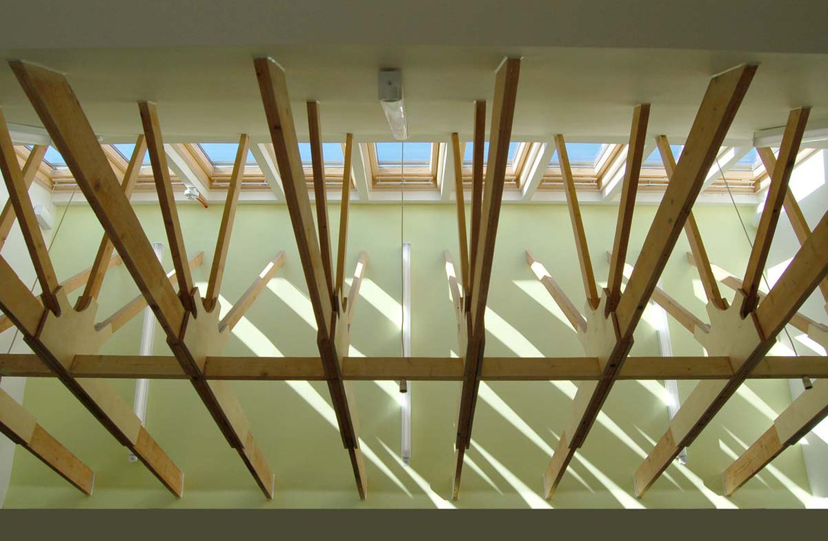 Cypress nursery rooflight